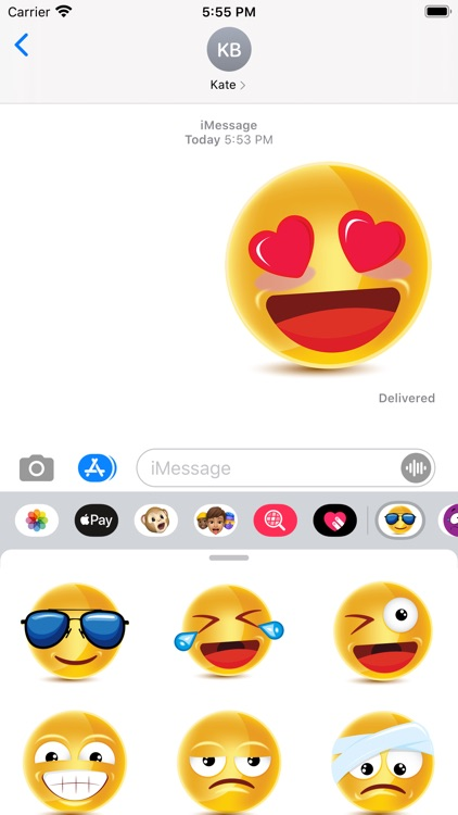 Big Emojis - Stickers screenshot-3