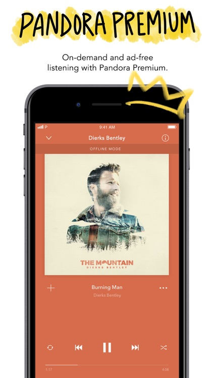 Pandora - Streaming Music screenshot-4