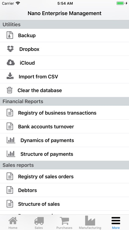 Nano Enterprise Management screenshot-6