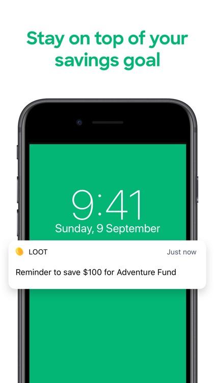 Loot - Savings Goal & Tracker screenshot-3