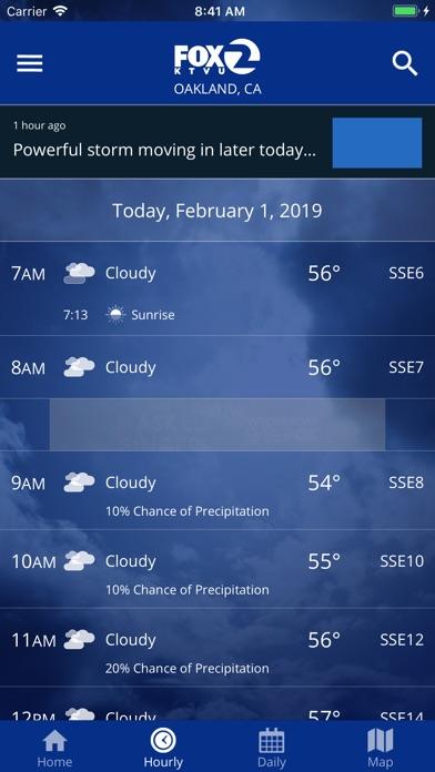 Screenshot for KTVU FOX 2 Weather & Radar in United States App Store
