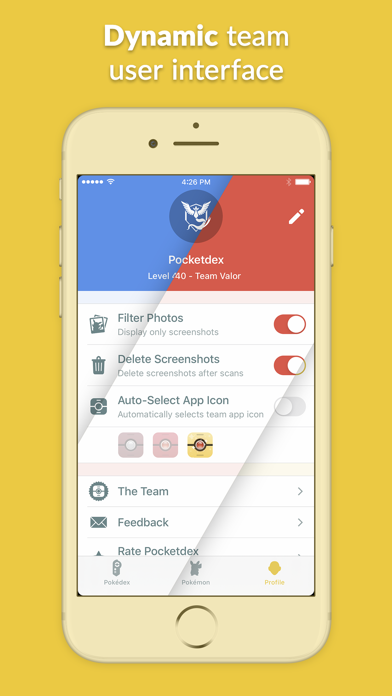 messages.download Pocketdex for Pokémon GO software