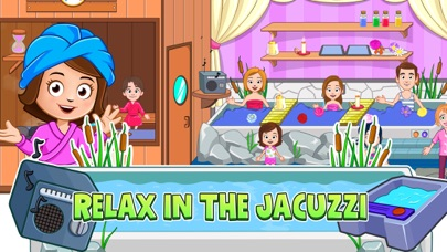 Screenshot for My Town : Beauty Spa Saloon in Israel App Store