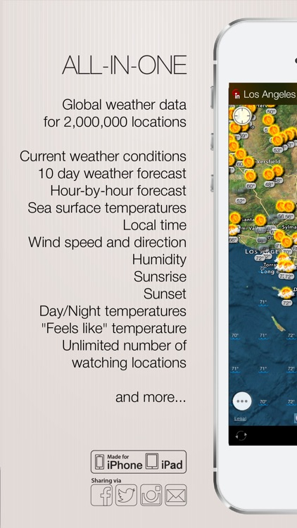 Weather and wind map screenshot-3