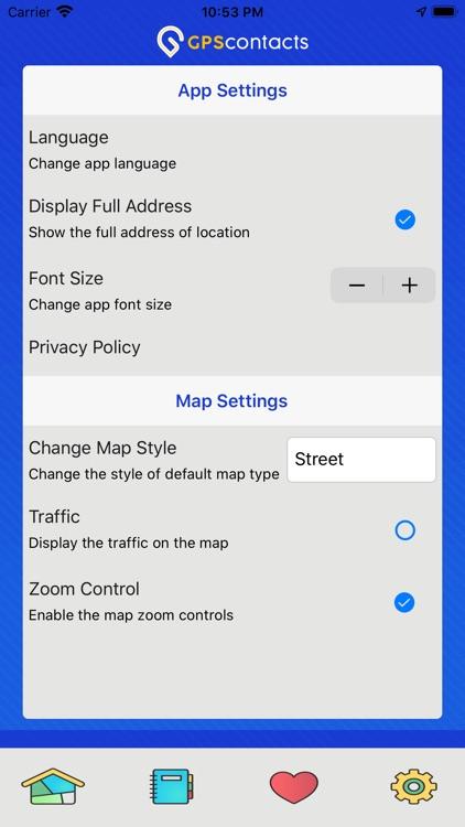 GPS Contacts screenshot-4