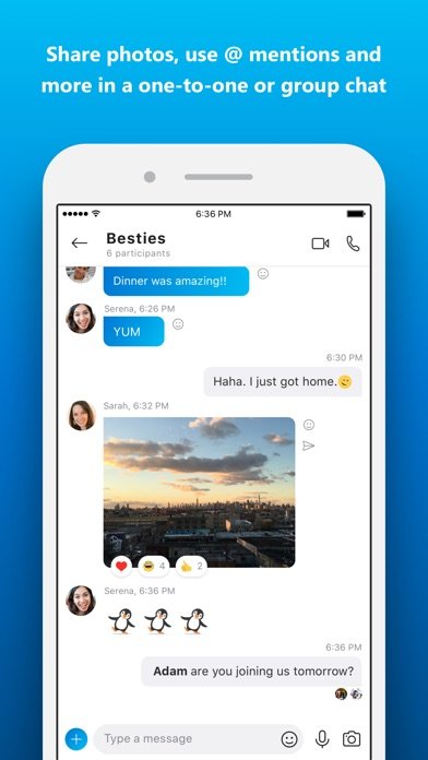 Screenshot for Skype for iPhone in Philippines App Store
