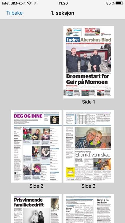 Indre Akershus Blad eAvis screenshot-4