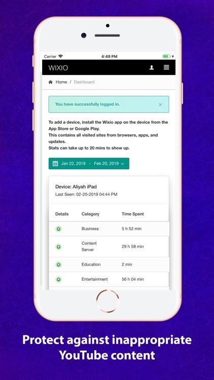 Wixio Parental Controls screenshot-3