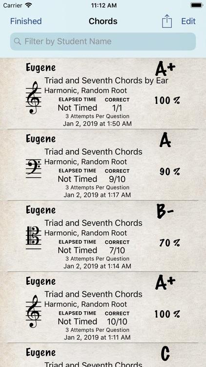 Music Theory Chords - iPhone screenshot-7