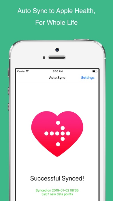 Auto Sync for Fitbit to Healthのおすすめ画像1