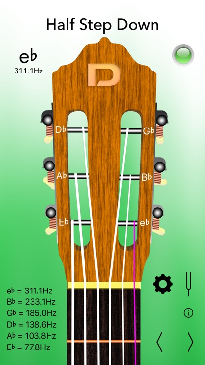 Classical Guitar Tuner Pro screenshot-2