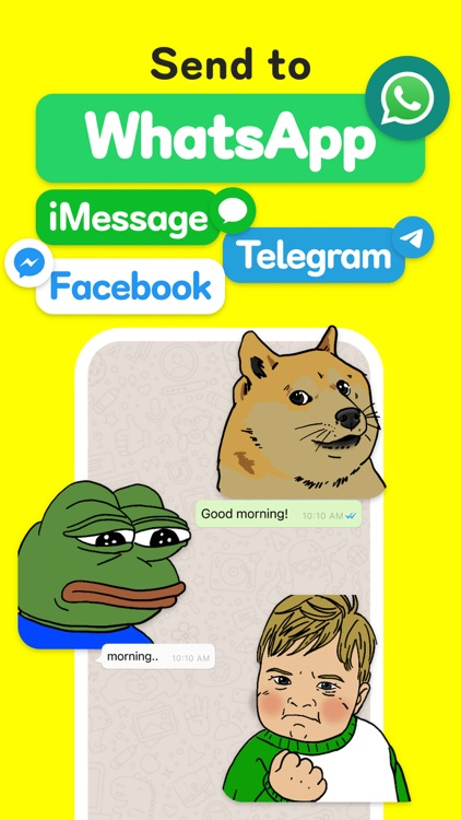 GIF Stickers for Whatsapp Chat