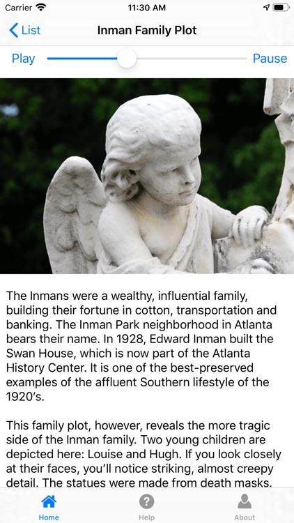 Atlanta's Oakland Cemetery screenshot-3