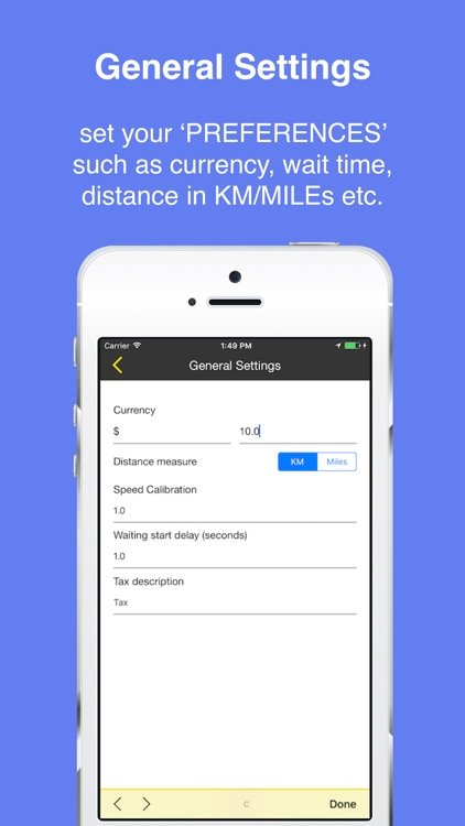TaxiMeter- GPS CAB Taxi Meter