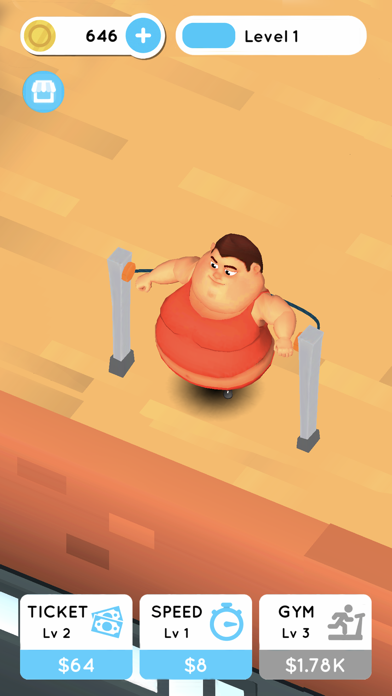 Fit the Fat: Idle Gym screenshot 4