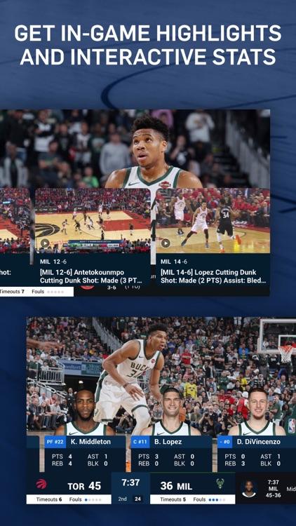 NBA: Live Games & Scores screenshot-3