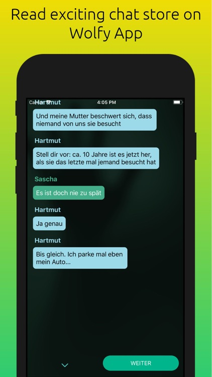 WOLFY - short chat stories screenshot-1