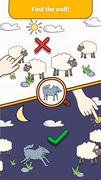Brain Find - Riddles&Find clue screenshot-3