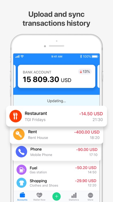 Wallet - Daily Budget & Profit Screenshot
