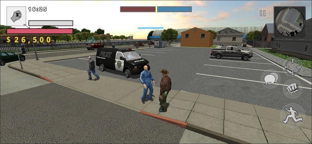 Police Cop Simulator. Gang War hack tool