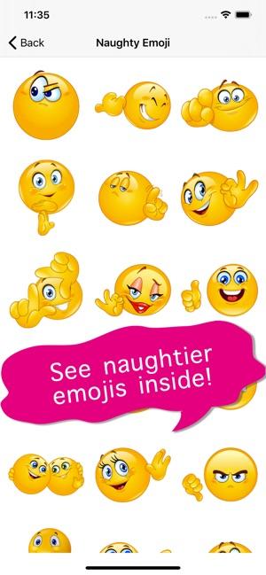 Nasty emoji art