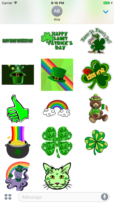 Animated St. Patrick's Day Gif app image
