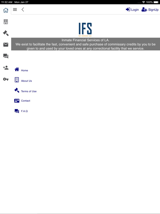 Inmate Financial Services On The App Store
