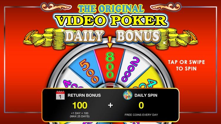 Video Poker - Classic Games