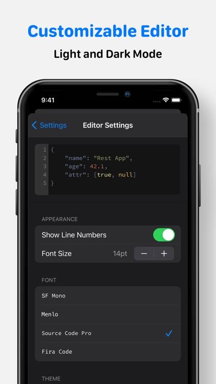 Rest – HTTP API Client screenshot-3