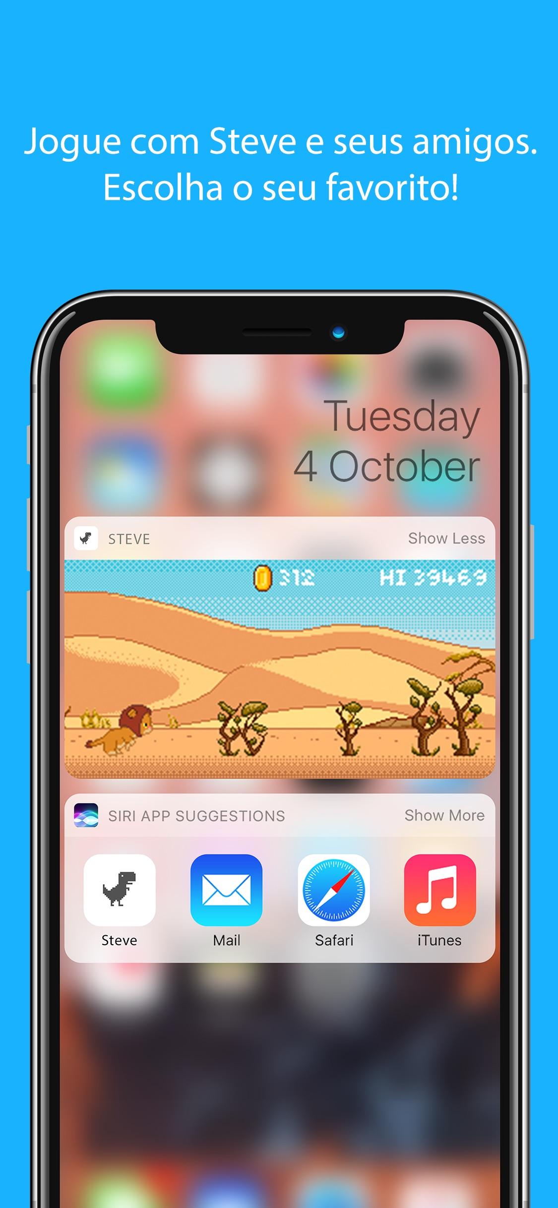 Screenshot do app Steve - Jogo de Widget