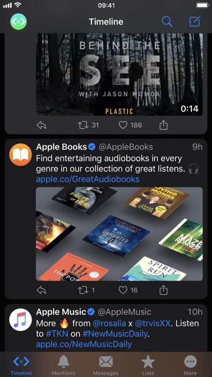 Spring Lite for Twitter screenshot-3