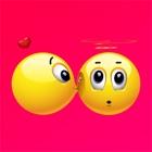 Emoji amour - Émoticône mignon icon