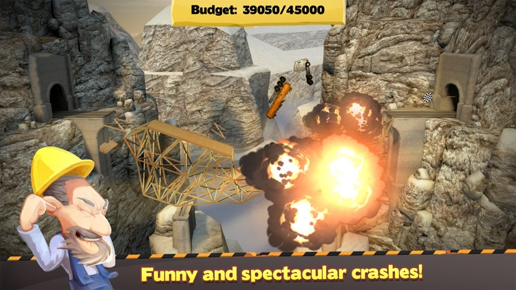 Bridge Constructor screenshot-3