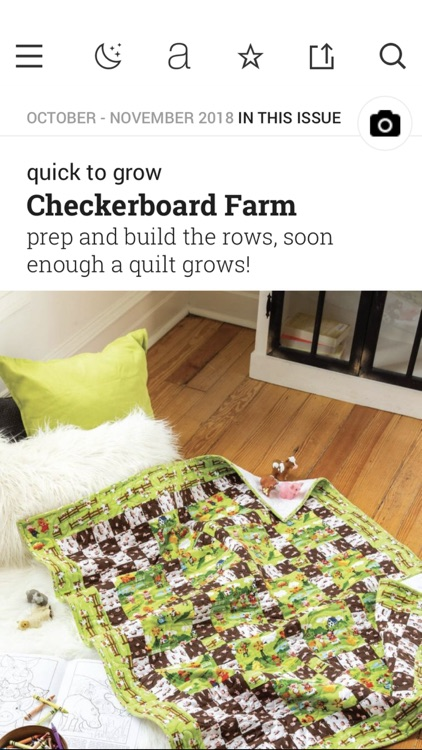 McCall's Quick Quilts Magazine screenshot-5