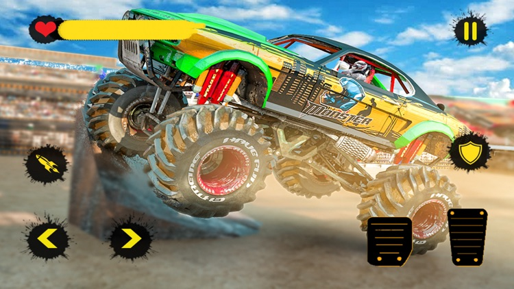 Monster Truck 4x4 Derby screenshot-5