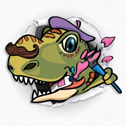 Paint & Play: Dinosaur Train