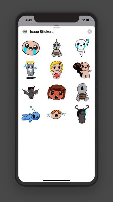 Isaac Stickers Pack Screenshot 2