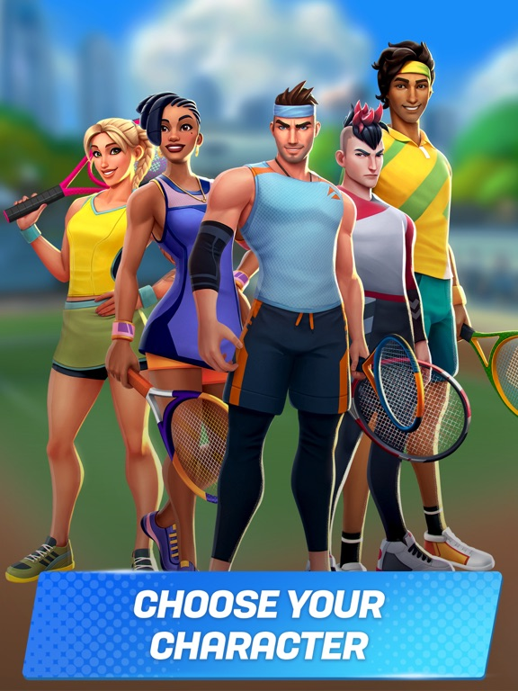 iPad Image of Tennis Clash: Live Sports Game