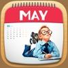 个性化的照片日历