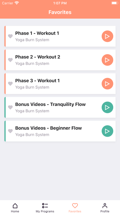 Yoga Burn Appのおすすめ画像7
