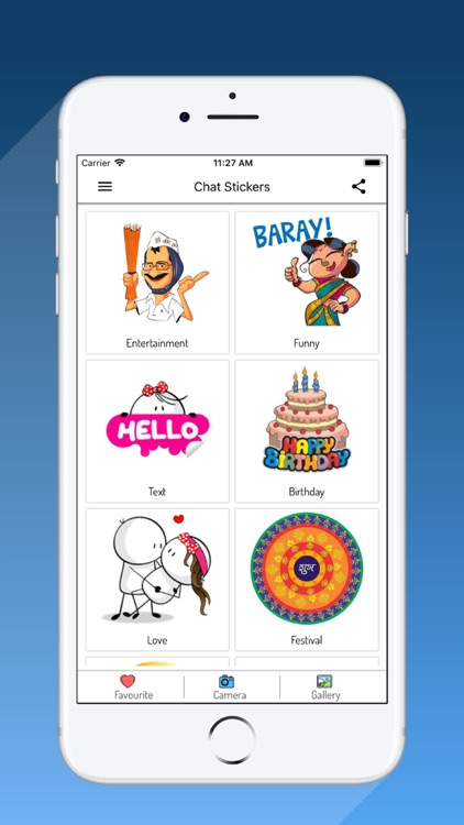 Chat Stickers App