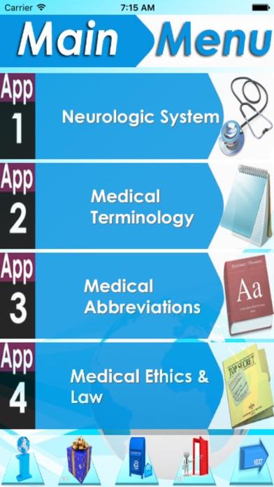 NCLEX Neurology 2600 note&Quiz screenshot one