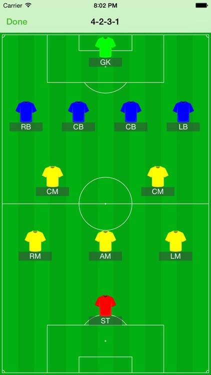 Soccer Teammate screenshot-4
