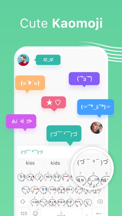 Facemoji Keyboard: Fonts&Emoji Screenshot