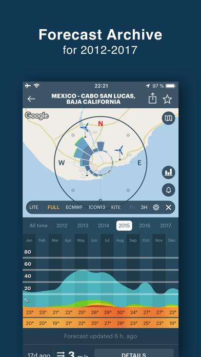 WINDY PRO: wind forecast app Screenshots