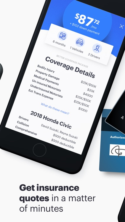 Cover - Insurance in a snap screenshot-3