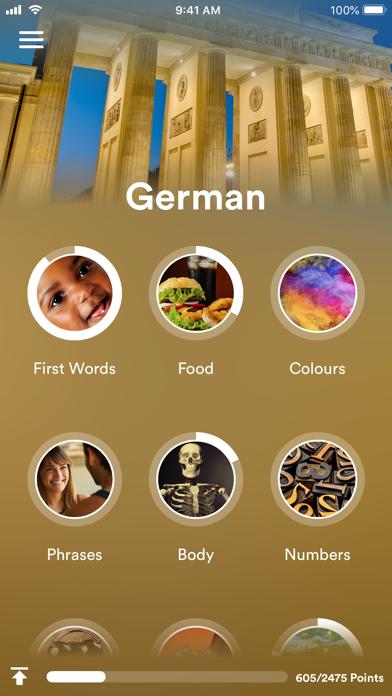 Learn German - EuroTalk screenshot one