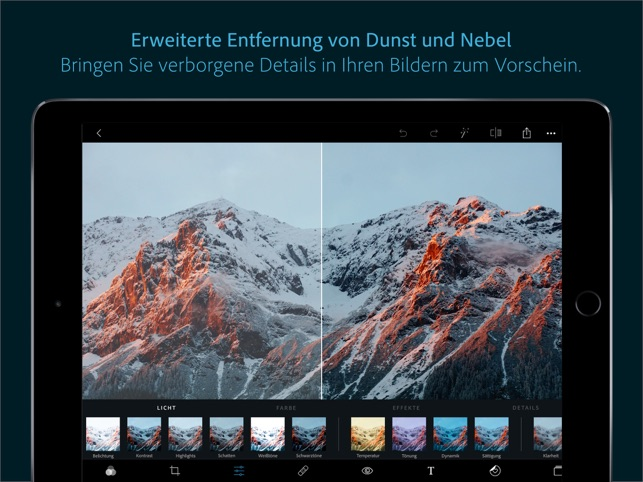 Photoshop Express-Fotoeditor Screenshot
