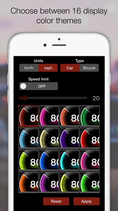 Screenshot for GPS 속도계 - 디지털 및 아날로그 속도 추적기Pro in Korea App Store