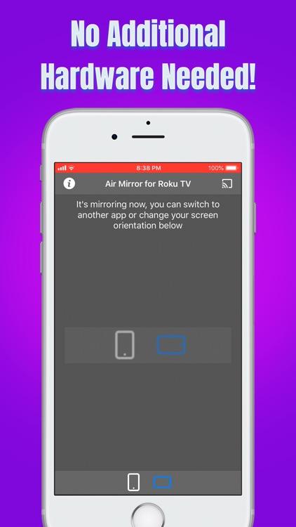 Air Mirror for Roku TV screenshot-3